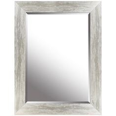 hobbitholeco. Silver Leaf Gradient Beveled Mirror - 26.25W x 34.25H in.