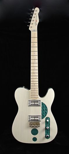 Red Rooster Guitars HH-CC in Flat Trans Cream