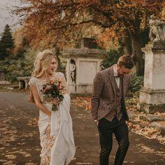 These two beauts make our hearts swell #allthefeels ❤️ Photography by @pablo_laguia Planning & Styling @palomacruzeventos Flowers @graceandthorn Dress @rimearodaky Groom @anclauomo  Neon Light @bagandbones . . . #brideandgroom #brideandgroomportrait #stylishcouple #stylishwedding #stylishbrideandgroom #elopement #elopementwedding #rimearodaky #rimearodakybride #laceweddingdress #tweedsuit #autumnalwedding #fallwedding #autumnwedding #mermaidhairdontcare #mermaidhair #bridalbeauty…