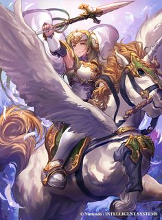 Ilustraciones completas - Sigrun - Artworks e imágenes - Galería Fire Emblem Wars Of Dragons