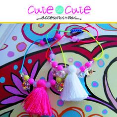 Pulseras llenas de color y para combinar con todo!!! #CuteSoCute