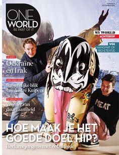 OneWorld #06 - 2014  Met o.a. verhalen over de stad van de toekomst, marketingmensen met een geweten en André Kuipers, die sinds zijn ruimtereizen strijdt voor een duurzame wereld.