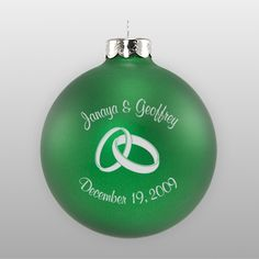 Personalized Wedding Favor Ornaments In Bulk
