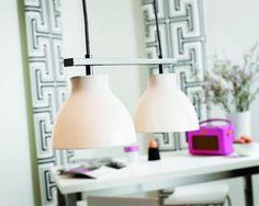 Darling 2 Bar Pendant lighting styles 79? Bar Pendant Lights, Pendant Lighting, Fashion Lighting, Room Lights, Kitchen Lighting, Dining Area, New Homes, Decor Ideas, House