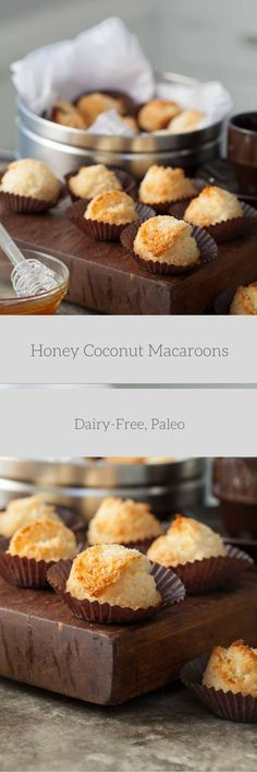 These coconut macaroons are soft and chewy with the sweet taste of honey. I think we've probably all had at least one bad experience with those misshapen, heavy and tooth-achingly sweet confections…