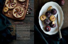 Desserts for Breakfast: Morning hazelnut plum tarts