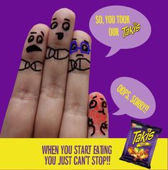 Who took my #Takis??!!