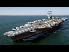 The U.S. Navy's Newest Aircraft Carrier USS Gerald R. Ford (CVN-78) Time-lapse Novo Porta-Aviões dos EUA Watch 4 years of construction in 3 minutes, from the...