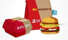 Burger King creates a clever PR stunt with the McWhopper.