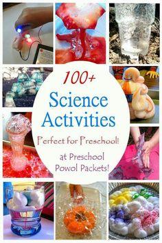 100 preschool science activities