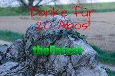 Neues Video Online! Danke für 20 Abonenten! https://www.youtube.com/watch?v=jFn7MYByPTE #theForest Würde mich freuen wenn ihr das Video teilt!