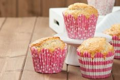 Muffin e cupcake - Fidelity Cucina Pancake Muffins, Mini Muffins, Cake Cookies, Cupcakes, Vegan Cake, Crepes, Buffet, Cooking, Breakfast