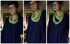 DIY Projects: No Sew T-Shirt Infinity Scarf Tutorial