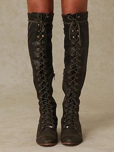 thigh-high combat boots - Fashion has transformed the combat boot ...