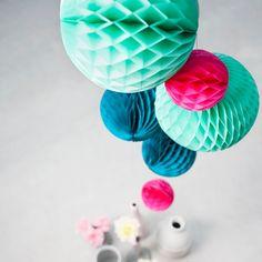 Honeycombs ocean set van 3 - Engelpunt - BijzonderMOOI* - Dutch design