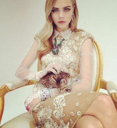Cara Delevingne Mulberry Campaign 2014 Spring-Summer