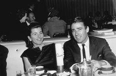Ciro's Nightclub Pat & Peter Lawford c. 1958