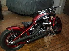 yamaha v-star 650 bobber on bikerMetric