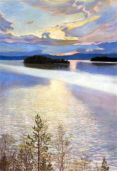 Akseli Gallen-Kallela, Lake View, 1901