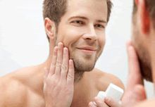 The best sunscreen for men's face - Care - Skin care , beauty ideas and skin care tips Sunscreen For Men, Massage Facial, Shaving Tips, Best Sunscreens, Male Makeup, Sensitive Skin Care, Beard Grooming, Younger Looking Skin, Facial Care