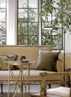 Big Windows + Plants + Classy But Simple Furniture.
