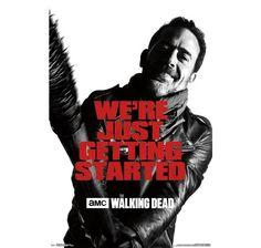 The Walking Dead Poster The Walking Dead Lucille, Amc Walking Dead, Jeffrey Dean Morgan, Rick Grimes, The Walking Dead Poster, Negan Lucille, Lucille Twd, Poster Wall, Poster Prints