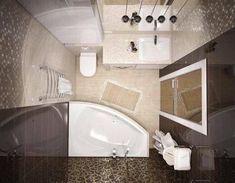57 trendy Ideas for bathroom ideas small apartment layout
