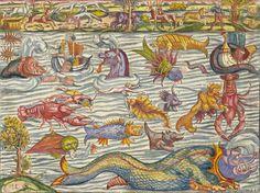 medieval sea creatures