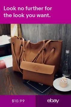 f441821ec215 US Women Leather Shoulder Messenger Purse Handbag Crossbody Satchel Tote Bag  New