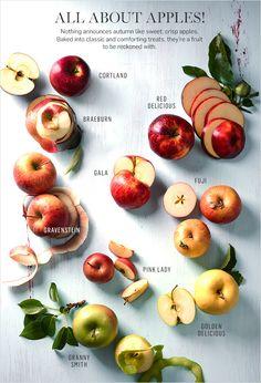 Fall apples - yum!