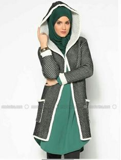 hijab fashion and stylé Bild