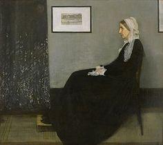 Arrangement in Grau und Schwarz No. 1 (James McNeill Whistler)