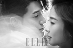Lovebirds Lee Ki Woo & Lee Chung Ah's La Mer Pictorial For Elle Korea's March 2015 Issue | Couch Kimchi