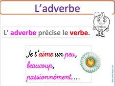 La notion d'adverbe - Le jardin d'Alysse
