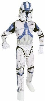 « Star Wars Child's Clone Trooper Costume, Large »