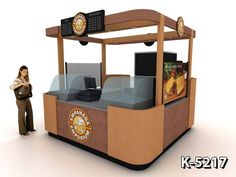 Manufacturers of Ice Cream Kiosks, Espresso Kiosks, Donut Kiosks, Pretzel Kiosks