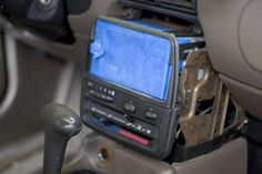 Making the dash trim for a Pioneer Double Din radio.