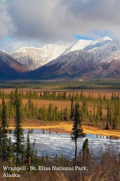 Wrangell - St. Elias National Park, Alaska - Most Underrated National Parks in America #alaskatravel