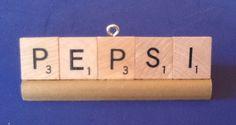 SCRABBLE ORNAMENTS ,PEPSI  #Pepsi