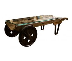 """Victorian """"Slingsby"""" Sack Truck Coffee Table"""