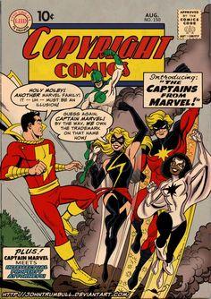 captain marvels!