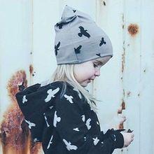 Precioso Niño Niños Niño Niña Invierno Cálido Sombrero De Punto de Ganchillo Beanie Cap animal print(China)