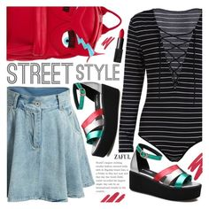 """Street Style"" by pokadoll ❤ liked on Polyvore featuring NARS Cosmetics, Chiara Ferragni, polyvoreeditorial, polyvorefashion and polyvoreset"