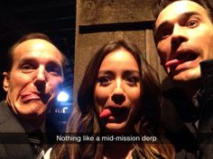 Notbing like a mid-mission derp || Phil Coulson, Skye, Grant Ward || Team Bus + Social Media || #fanedit #humor
