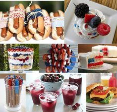 fourth of july: http://divinepartyconcepts.com/2011/05/26/memorial-day-recipes/