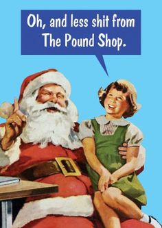 Pound Shop | Funny Christmas Card