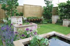 Genesis Landscapes and Wardrop & Stevenson show garden 'The Green Connection' for BBC Gardeners World Live.