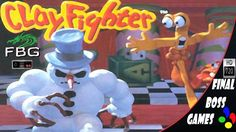 ClayFighter | Snes | Final Boss