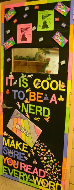 Bonham Business: A Candy Themed, Classroom Door Decorating Contest Be a Nerd for God's Word! Candy Theme Classroom, Candy Land Theme, Classroom Bulletin Boards, Classroom Door, Classroom Design, Future Classroom, Classroom Organization, Classroom Ideas, Library Themes