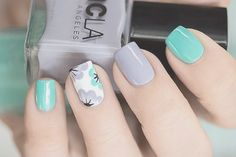 Spring Quinceanera Nail Trends 2017 - Quinceanera Jazz up your nails this Spring with the most adorable and trendy designs of all times! These are the nail trends to rock right now. Shellac Nails, Spring Nail Trends, Spring Nails, Orange Nail Designs, Nail Art Designs, Hair And Nails, My Nails, Tape Nail Art, Nail Design